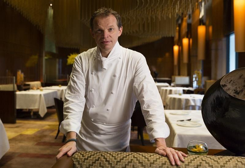 Richard Ekkebus, culinary director at The Landmark Mandarin Oriental, Hong Kong