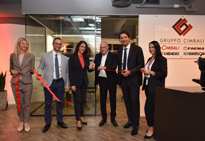 Image 1/4: At the opening of the Dubai office.
