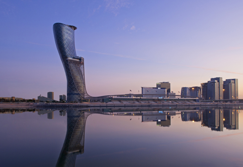 Hyatt has a number of hotels in the Middle East, including the Andaz Capital Gate Abu Dhabi
