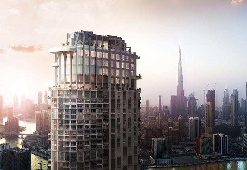 A render of the SLS Dubai Hotel & Residences