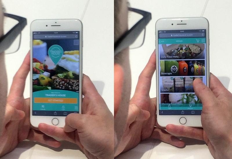 Screenshots of the new platform
