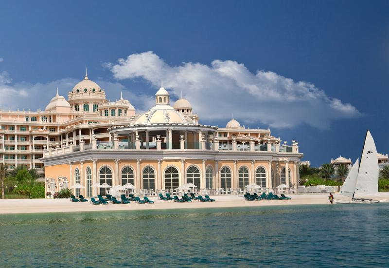 The recently opened Emerald Palace Kempinski Dubai.