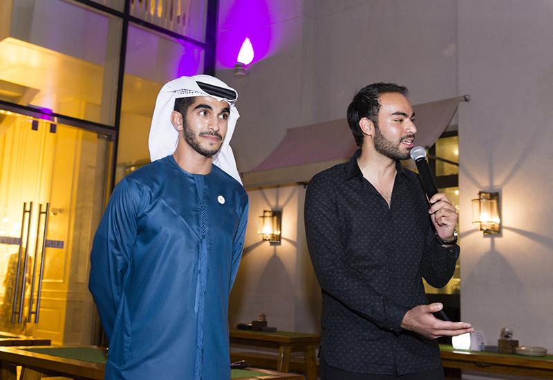 Letswork co-founders Omar AlMheiri and Hamza Khan