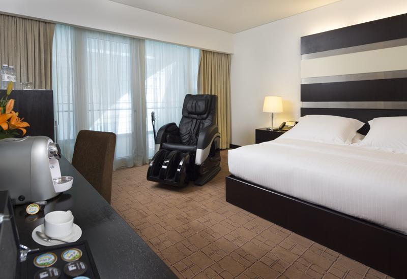 Superior Deluxe Room inside Dubai International Hotel.