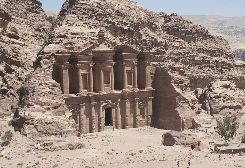 Foreign visitors up by 53% in Petra
