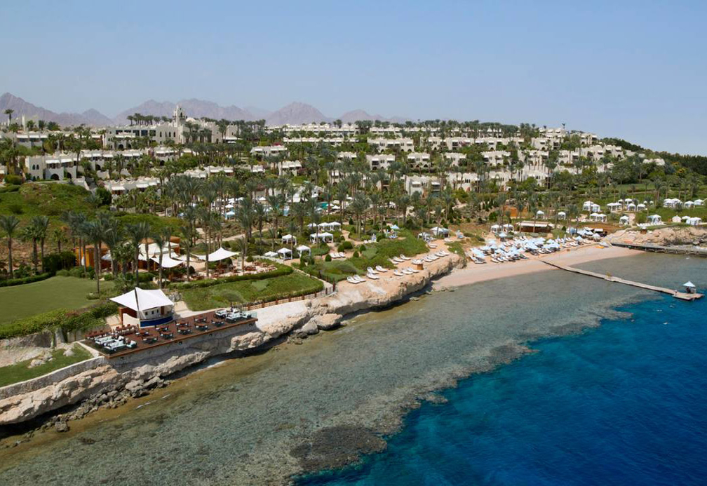 Four Seasons in Sharm El Sheikh - the city reported a positive February.