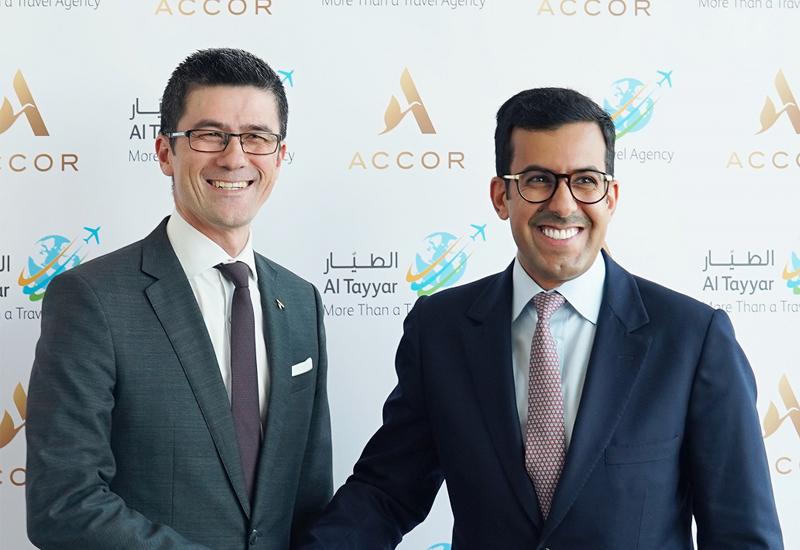 Markus Keller (left) with Abdullah Al Dawood(right)