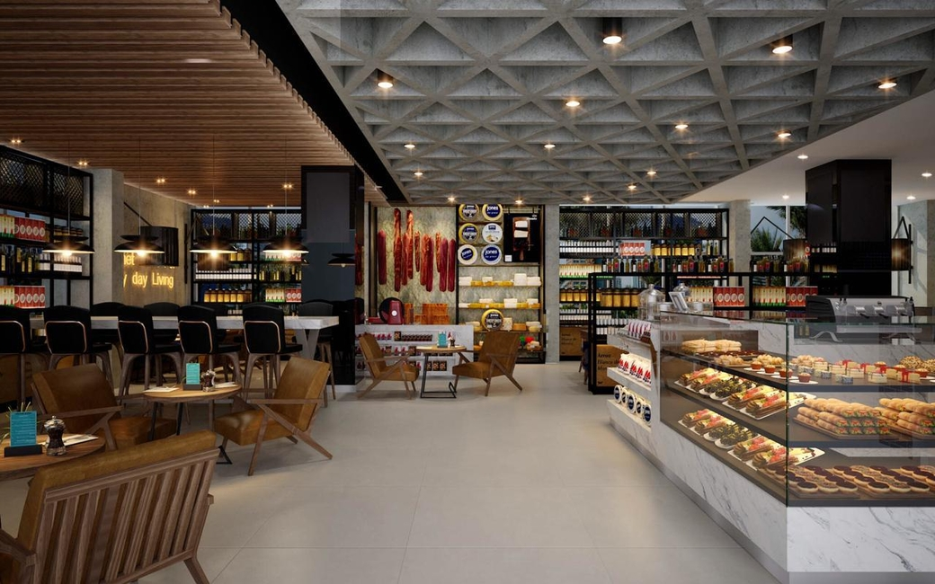 Restaurant, Holiday inn abu dhabi downtown, Abu dhabi, United arab emirates, Uae, F&B, Food and beverage