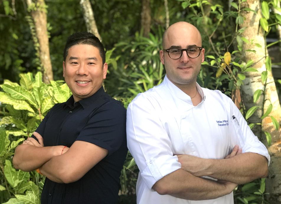 Quinn Pu and Stefano Micocci