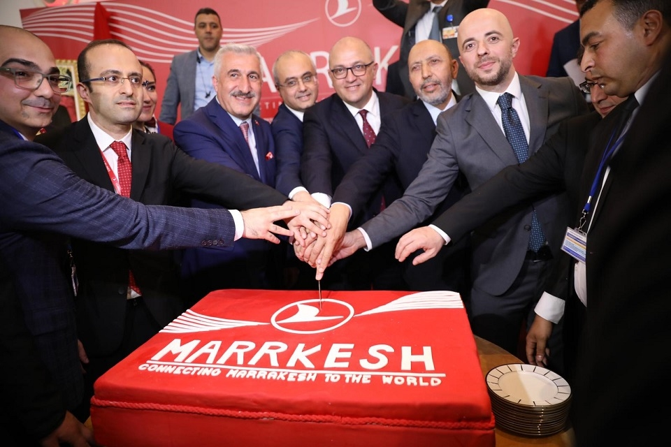 Turkish Airlines now operates flghts to Marrakech five days a week
