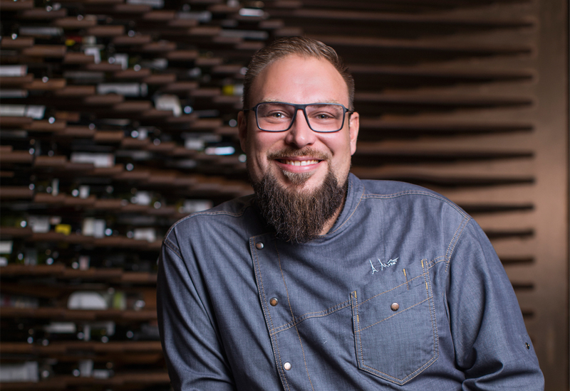 """Park Hyatt Dubai's chef Alex Moser (pictured) described food waste as one of the hotel's """"top priorities""""."""