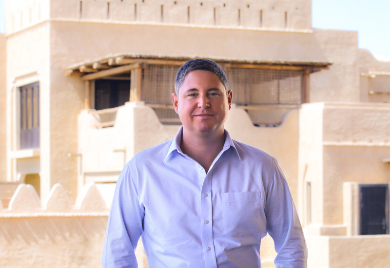 Adrian Stoppe (pictured) will become Qasr Al Sarab Desert Resort by Anantara's general manager