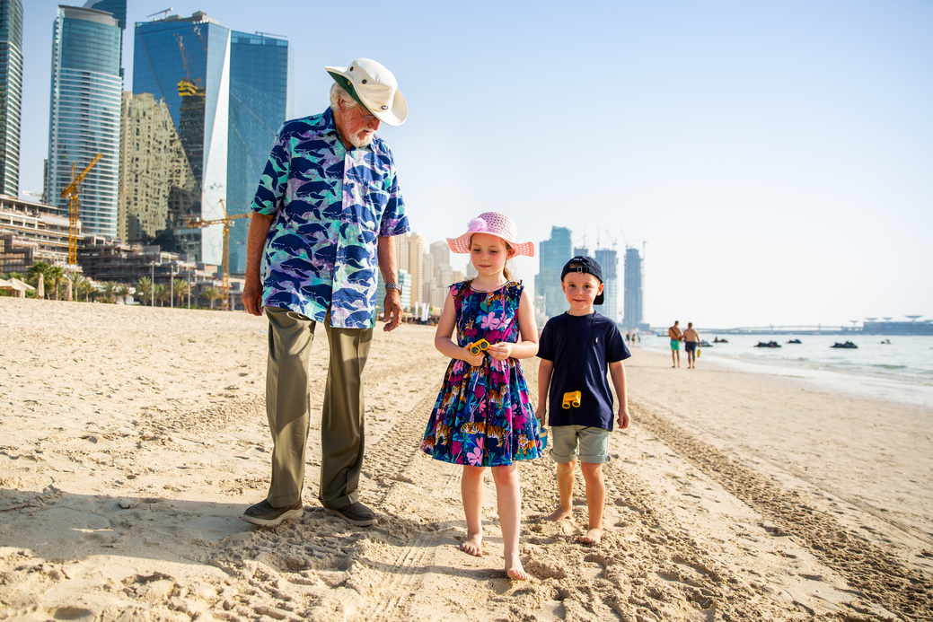 Jean-Michel Cousteau held two interactive sessions with more than 150 children at The Ritz-Carlton, Bahrain and The Ritz-Carlton, Dubai