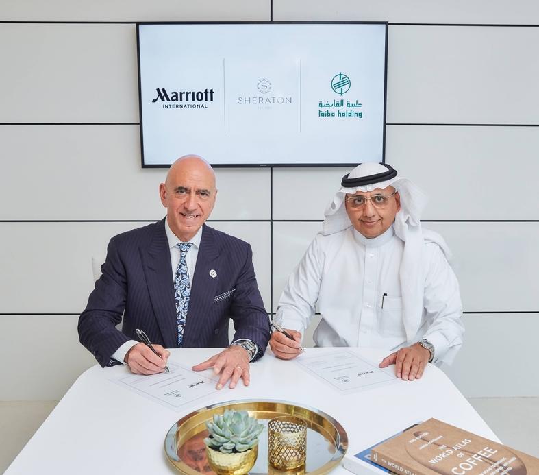 Sheraton, Saudi arabia, Marriott international, ArabianTravel Market, Atm, Medina