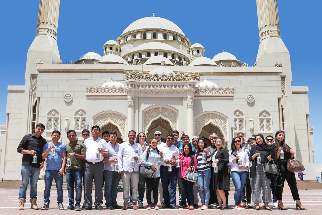 The initiative brought together more than 30 colleagues and guests from different nationalities.