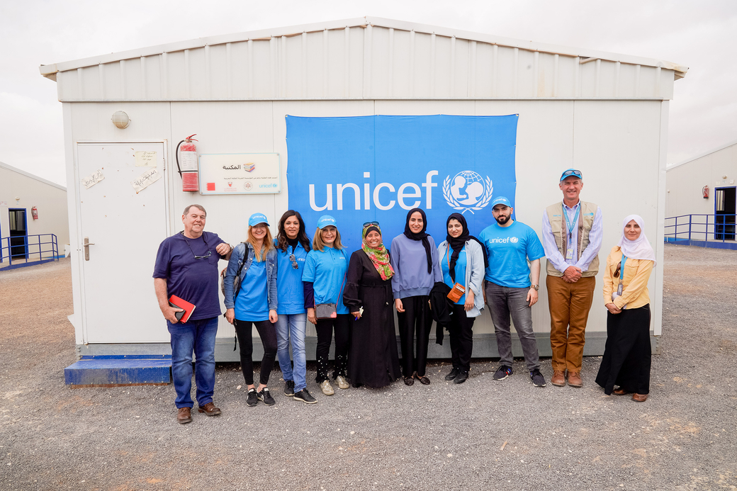 UNICEF is working closely with the Ministry of Education to provide quality, inclusive education and safe learning environments for all children in Jordan.