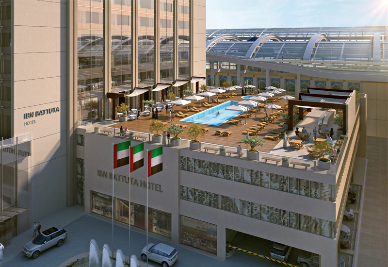The hotel is scheduled to open at the end of 2019
