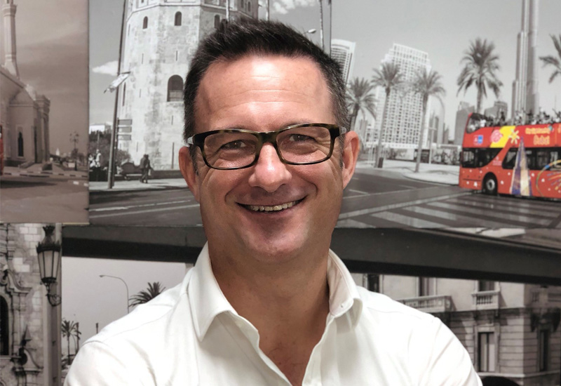 City Sightseeing's general manager, Cedric Scherer (pictured)