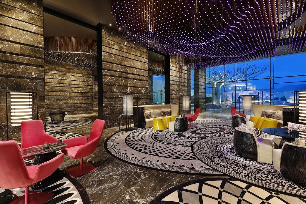 The Marriott's hotel in Muscat