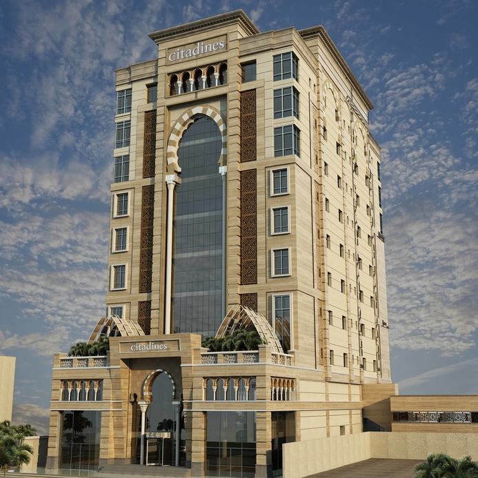 There has been an 8.4% increase in branded hotel supply for Q1 2019 in the city of Al Khobar.  Image source: The Ascott Limited