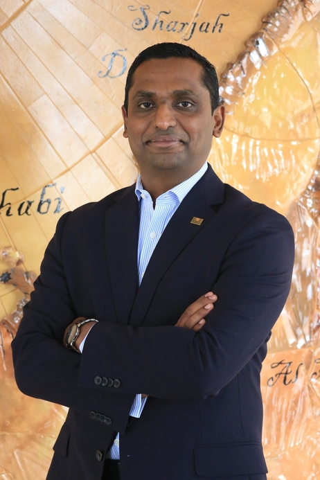 Danat Jebel Dhanna's general manager Renjith Chandran (pictured)