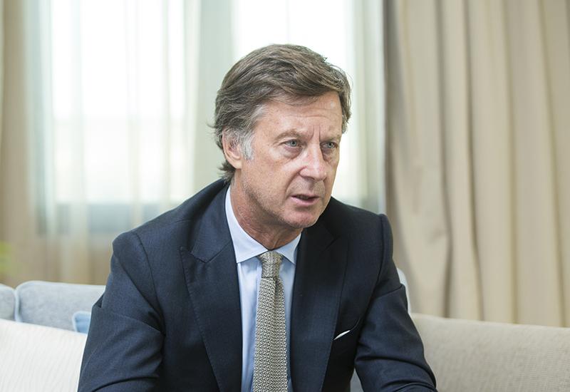 Accor CEO Sebastien Bazin (pictured)