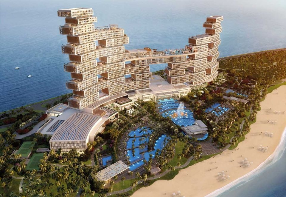 The new Royal Atlantis is planning to feature 11 restaurants.