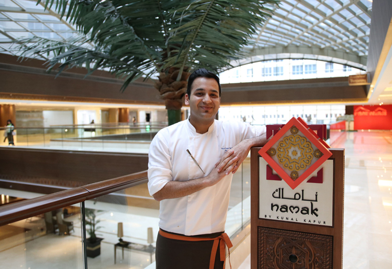 'I enjoy the busy operations of my kitchen,' chef Ankit Pahuja