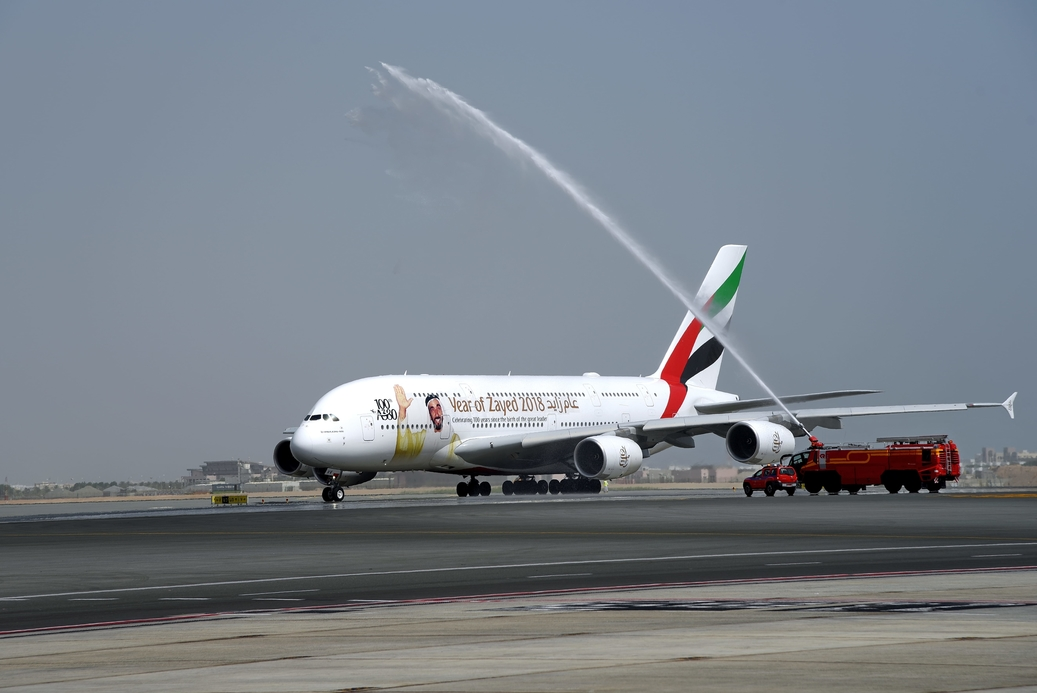 Dubai to Muscat is just 340 kilometres each way - making it Emirates' A380's shortest ever route