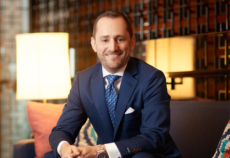 Four Seasons president of hotel operations Simon Casson (pictured)