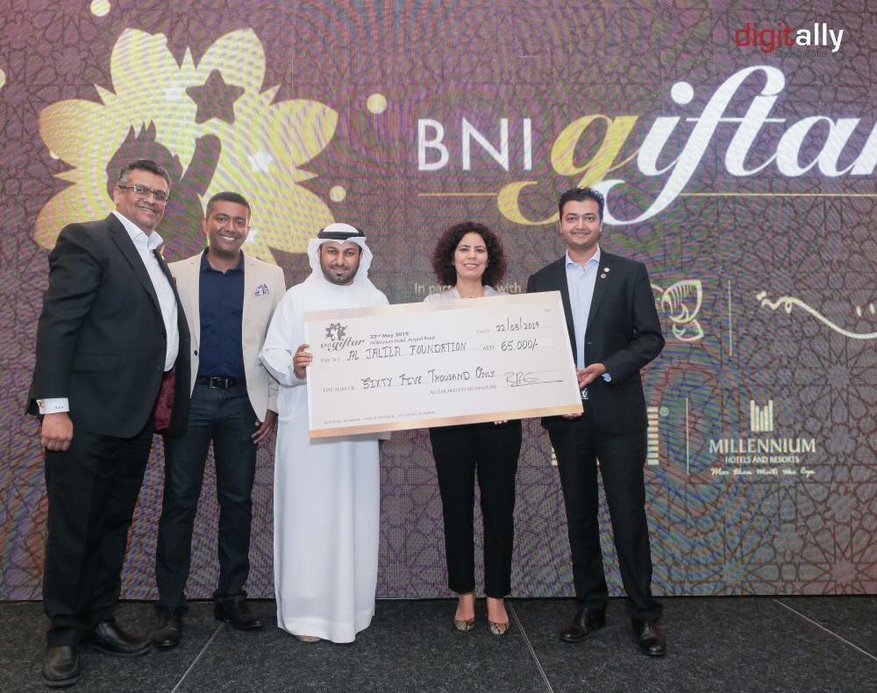 In addition to the iftar, an auction was hosted which raised $6,806.
