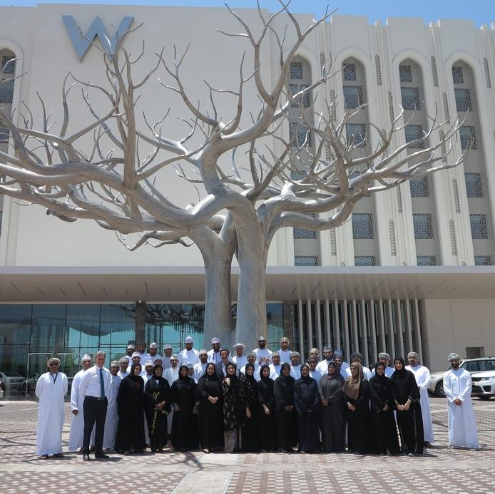 W Muscat has hired 100 Omani staff