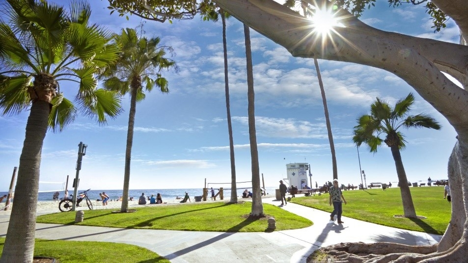 Middle East tourists were ranked 8th for spending in Orange County, California