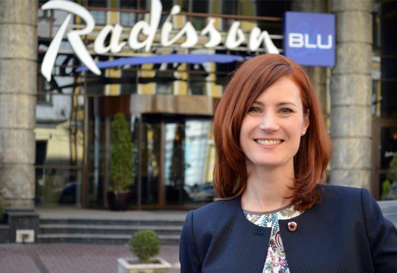 Radisson Blu Baku's general manager Nadine Fernbacher (pictured)