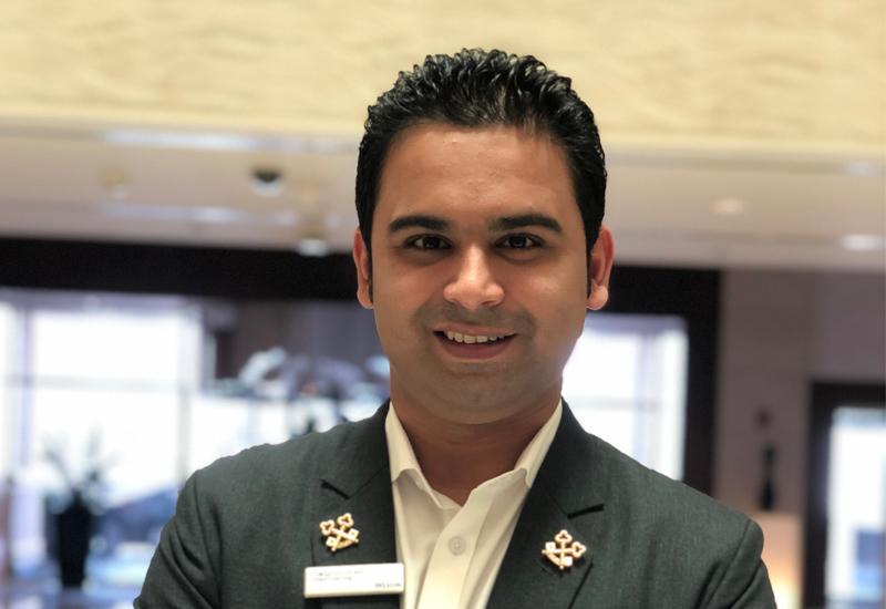 The Westin Dubai Mina Seyahi's chief concierge Swapnil Patrickar (pictured)