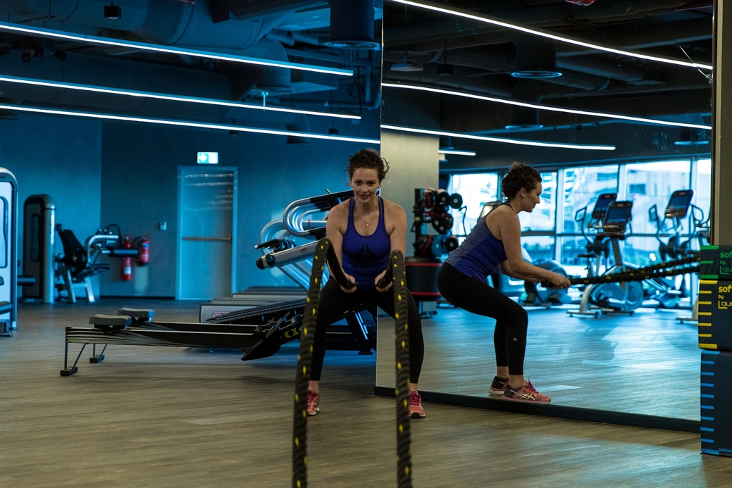 The gym also offers group classes that range from cardio and circuit training, to Tai Chi and Pilates sessions