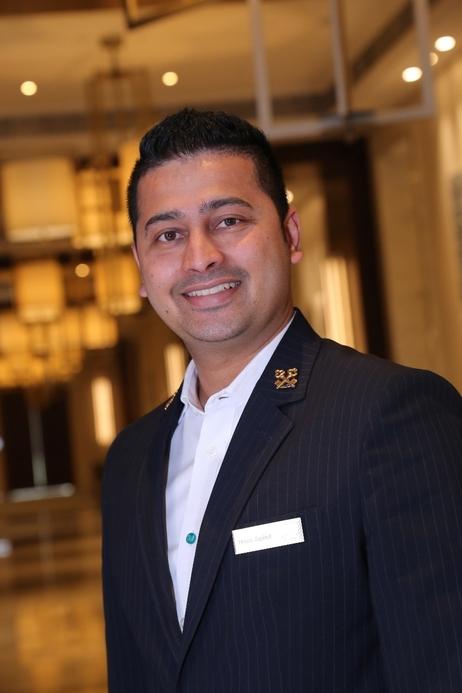 Hilton Dubai Al Habtoor City's chief concierge Brian Japhet (pictured)