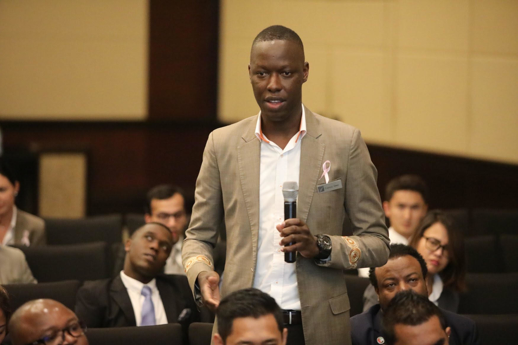 Fairmont the Palm's Francis Owori (pictured)