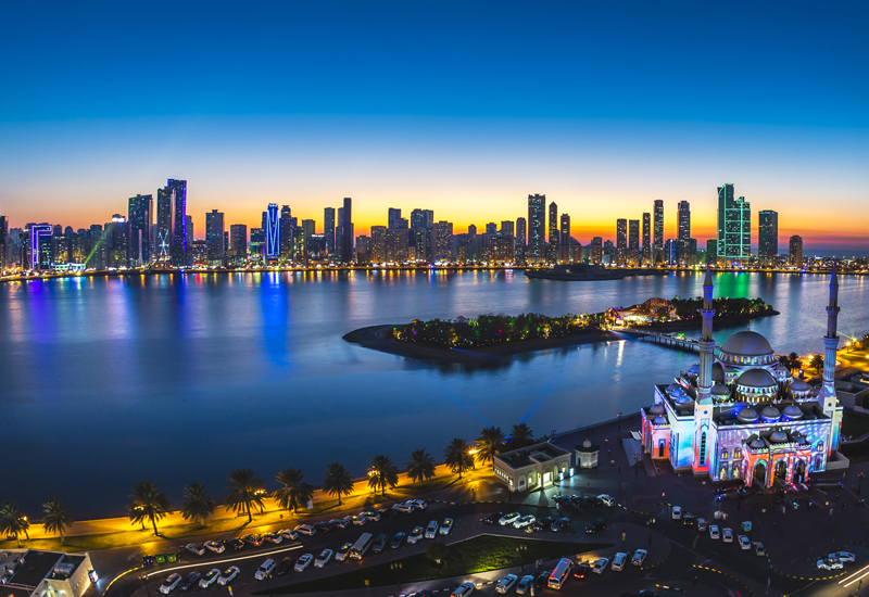 Sharjah growth has been steady over the past 10 years in all sectors
