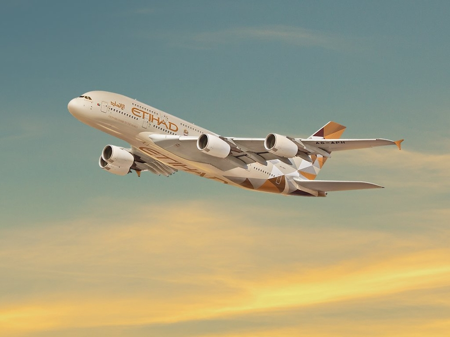 Image used for illsutrative purpose only. Image courtesy: Etihad Airways
