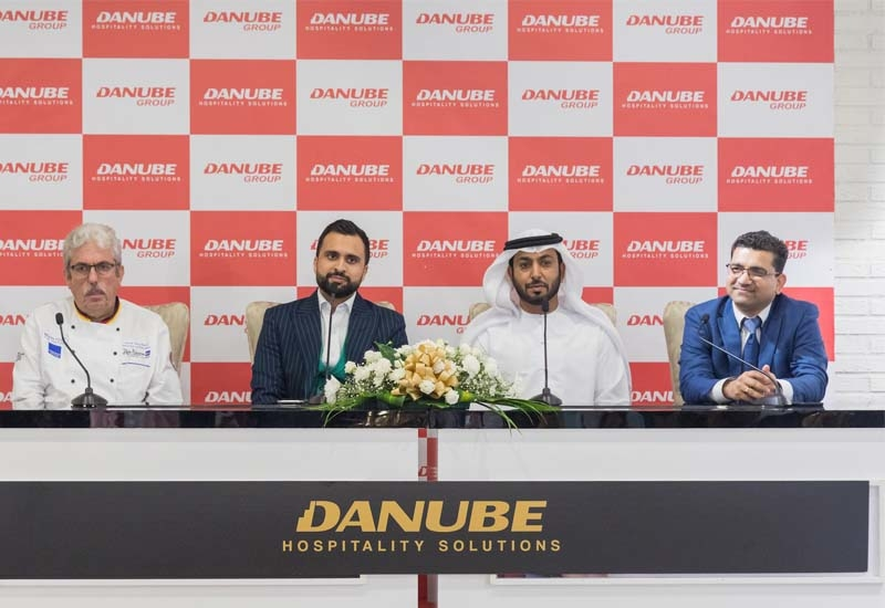 Danube Hospitality Solutions was launched at a press conference in Dubai