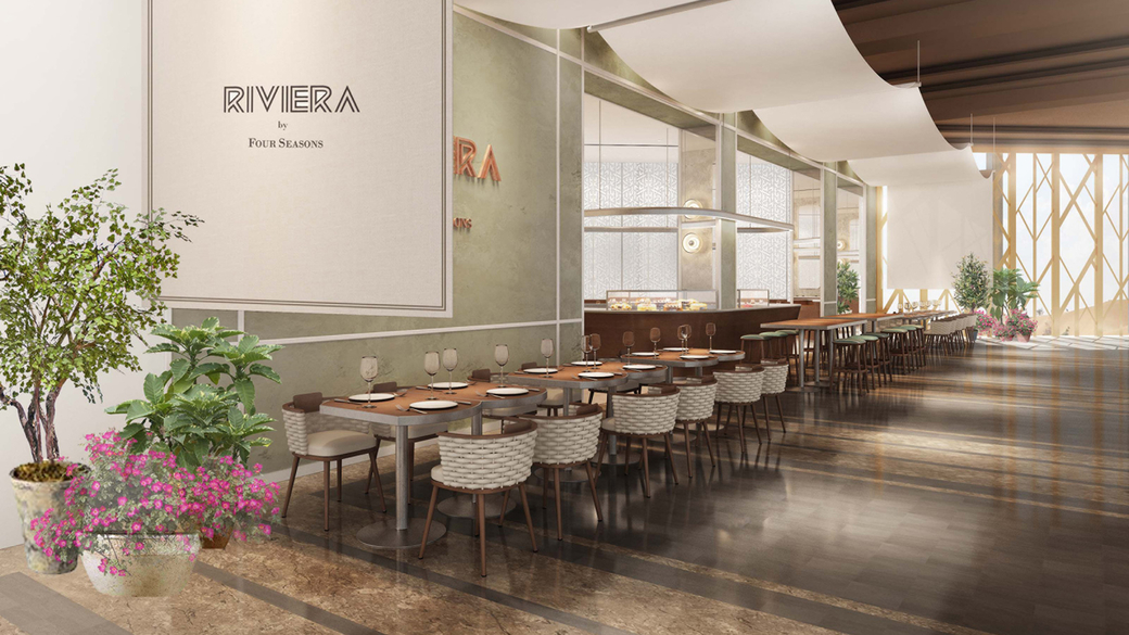 Riviera is located in Kuwait's The Avenues mall