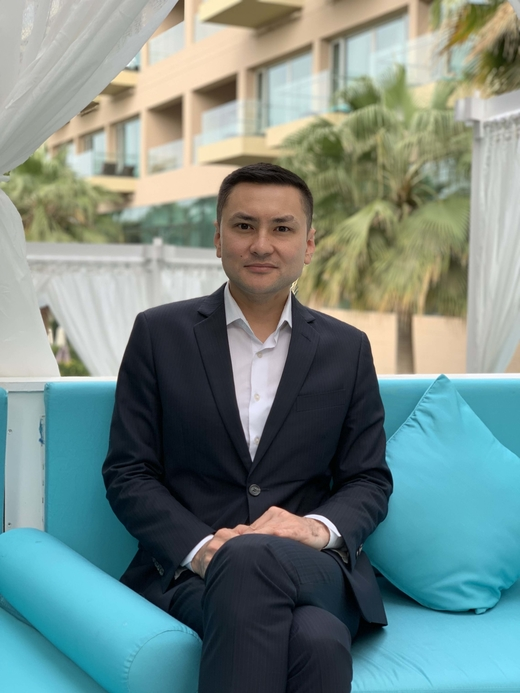 Birles Bizhkenov, front office manager at Rixos the Palm