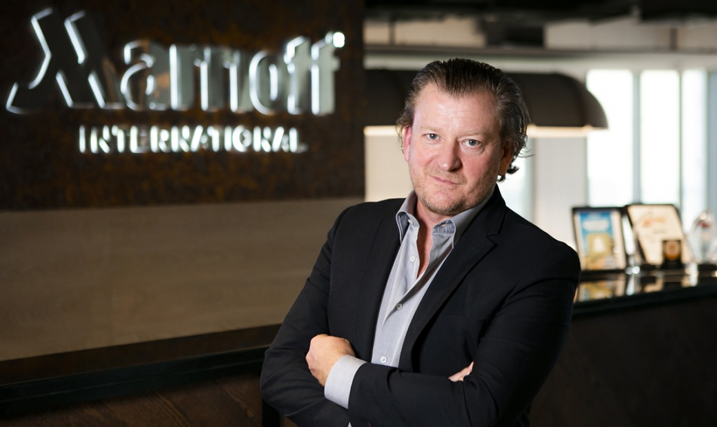 Christian Abell,  Marriott International vice president food & beverage, Middle East and Africa