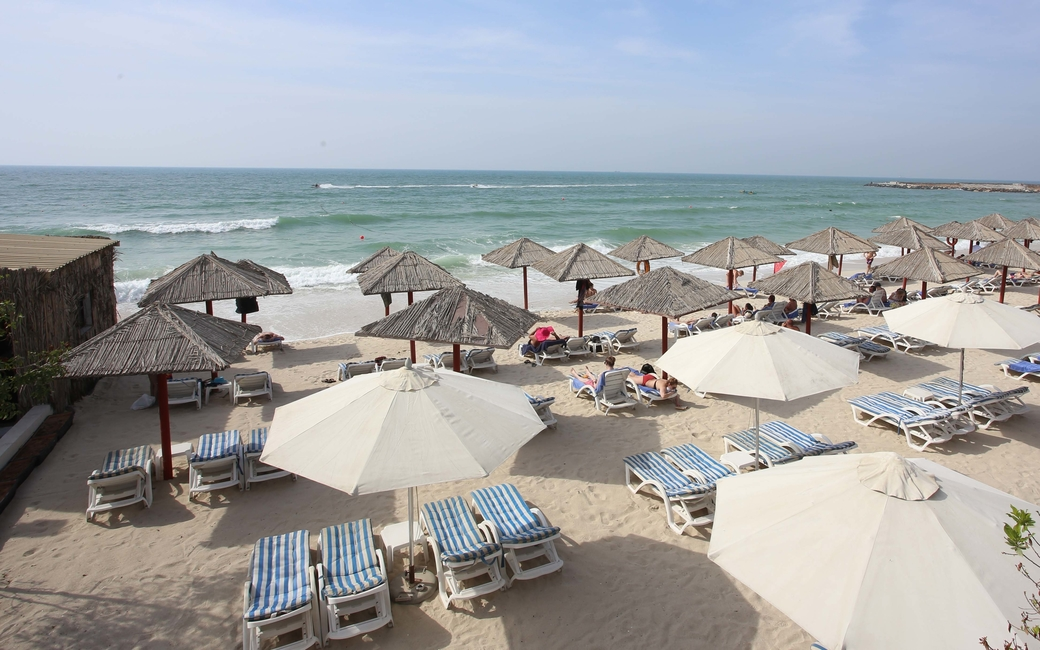 Ajman's Wyndham hotels offer breakfast, lunch and dinner and access to the hotel's private beach club
