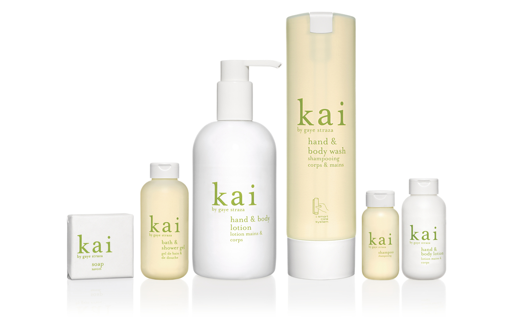 ADA International collaborates with Kai to launch luxury hotel collection that includes shower gels, shampoos, conditioners and lotions
