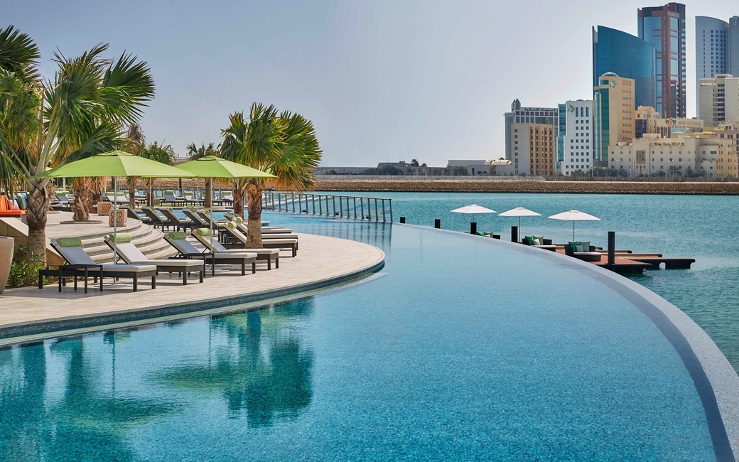 The Four Seasons package provides guests, access to its private beach