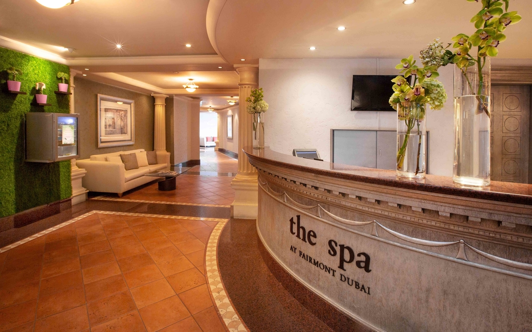 The Spa, Fairmont Hotel, entrance