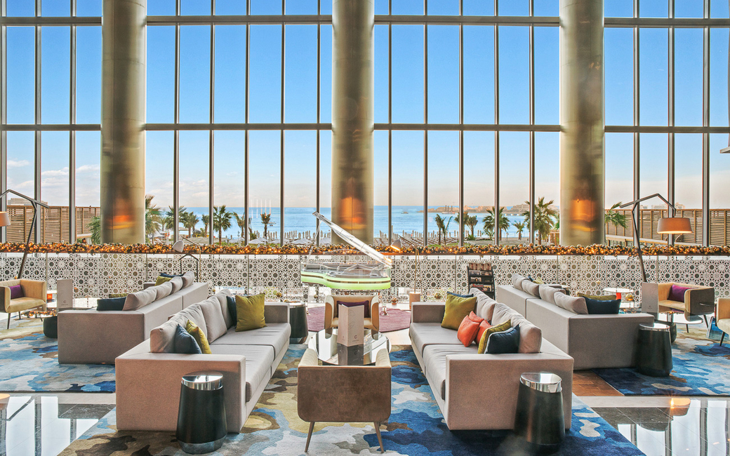 Dubai's first in-hotel Godiva Café offers guests a view of the Dubai Eye