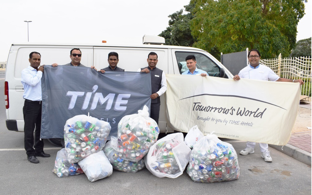 Time Hotels augments its CSR initiatives by supporting schools and the environment